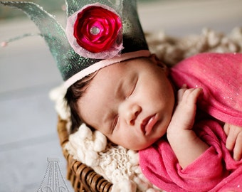 Newborn Posie Crown Prop