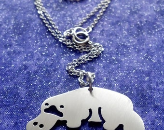 Platypus Charm Necklace Key Chain or Pendant