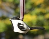 Million Birds of Hope* Chickadee Ornament, Christmas Ornament, Bird Ornament