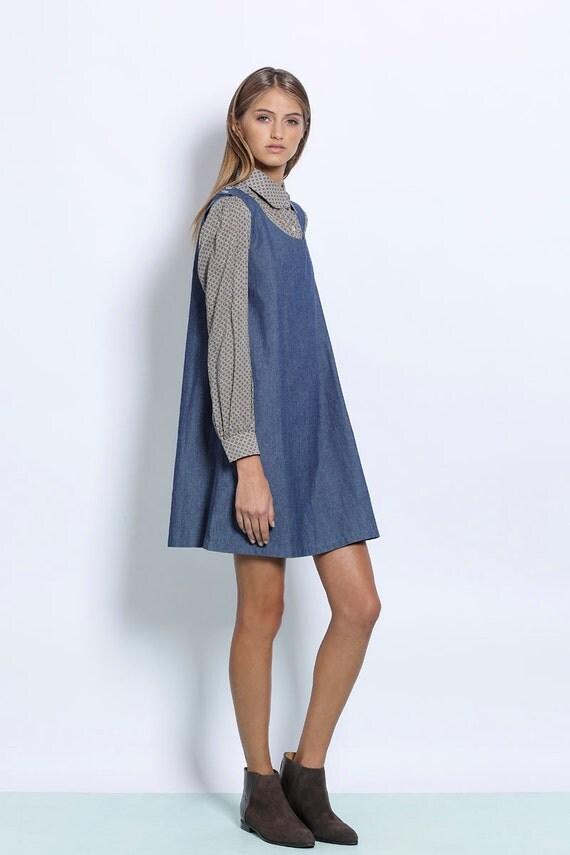 Excellent Denim Jumper Dress For Women Images