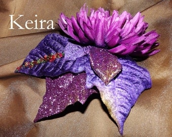 Tribal Fusion ATS Bellydance Floral Hair Clip, Keira
