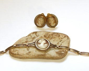 Antique Cameo Bracelet