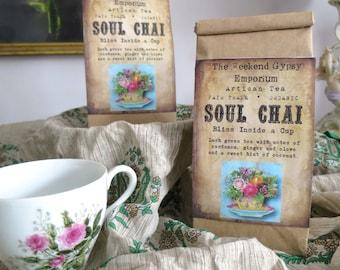"Bliss in a Cup - Weekend Gypsy ""Soul Chai"" Artisan Tea"