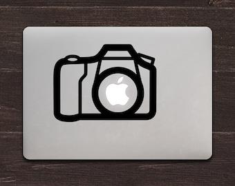 Camera Vinyl MacBook Decal BAS-0121