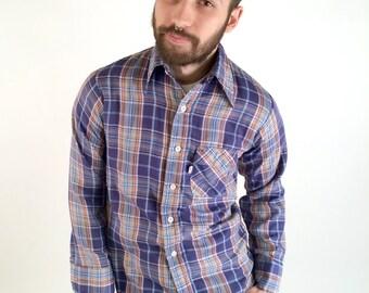 Levi's White Tab Button-up Shirt - Medium