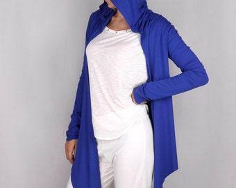 Hoodie Wrap Top in Rayon Lycra - Dance wear, Yoga wear