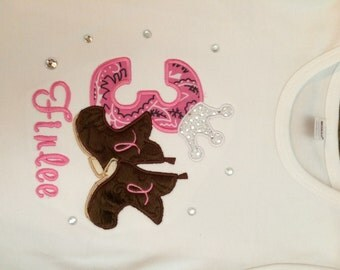Western Girls Birthday Shirt