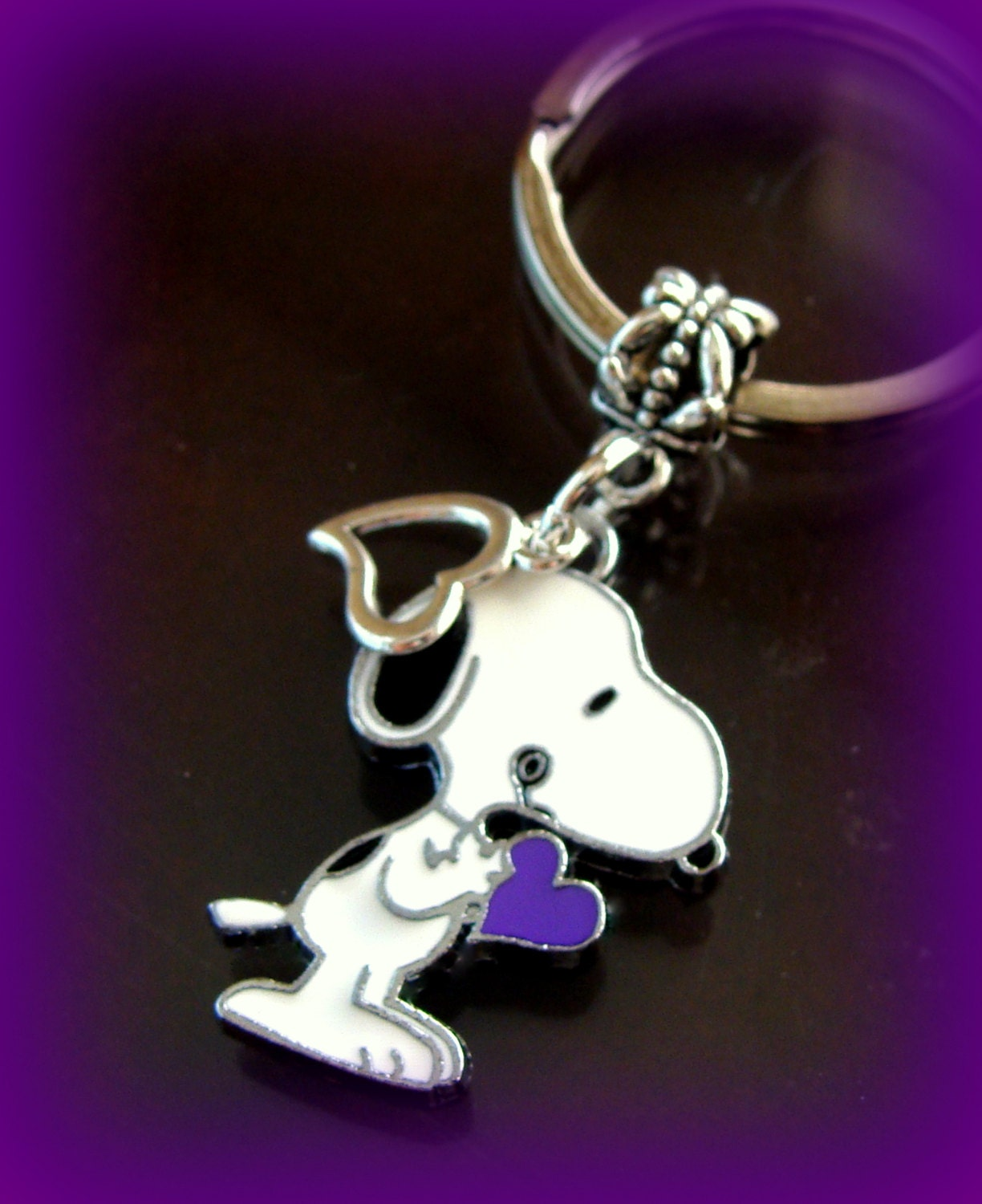 snoopy peanuts character keychain jewelry snoopy