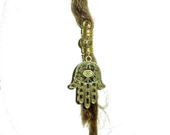 hamsa hand of fatima dread bead
