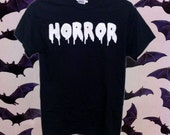 Customizable Horror T-shirt, Tank or Crop Top