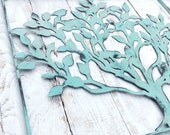 Metal Home Wall Decor-Aqua Home Decor-Entryway Decor-Entry Way Wall Art-Entryway-Scroll Wall Art-Blue Art-Life Tree