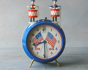 USA Bicentennial Clock