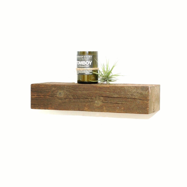Reclaimed Wood Floating Shelf 19