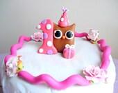 Custom First Birthday Cake Topper for Jen