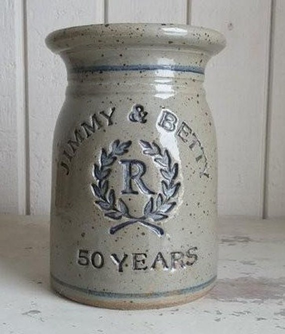Gift Ideas For A 50th Wedding Anniversary: Personalized 50th Wedding Anniversary Gift Shown With