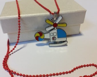 Sale! Helicopter Chopper Necklace