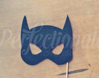 Super Hero Mask Prop, Super Hero Photo-Booth Prop | Bat Girl Photo Prop, Super Hero Party