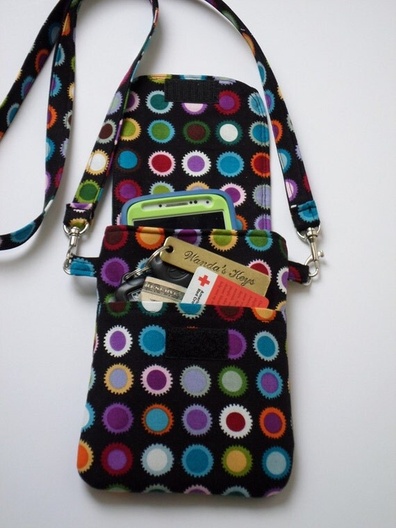 Cell Phone Purse Cross Body Shoulder Bag Pouch Case Colorful