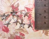 CLEARANCE - Antique Silver Seastar Charms - 20 pieces