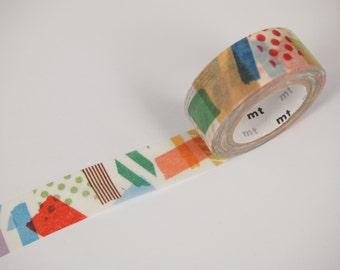 mt peta peta Washi Masking Tape - mt for kids (15mm X 7M)