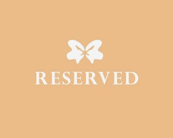 Reserved for Rebecca - balance