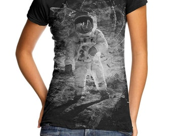 Womens tshirt - Outer Space Art - Graphic tee