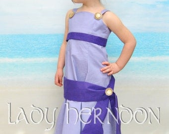 Meg Dress - Sizes 2T, 3T, 4T, 5, 6, 7, 8, and 10