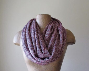 MARLED MAROON Infinity Scarf - Cabernet Infinity Scarf - Fashion Scarf for Women - Cozy Knit