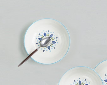 2 Cereal Bowls Swiss Alpine by Marcrest