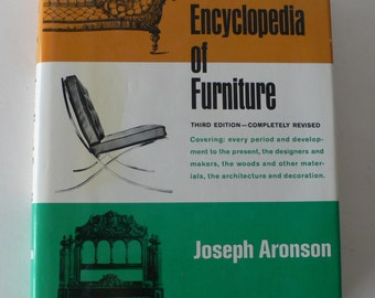 vintage book, The Encyclopedia of Furniture, 1989 from Diz Has Neat Stuff