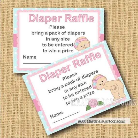 blank diaper raffle ticket - photo #22