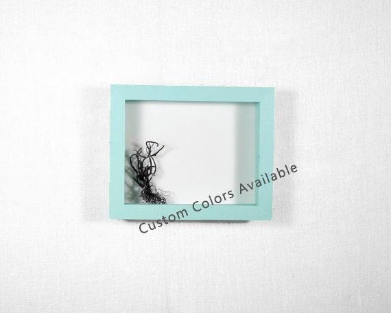 how to make a deep shadow box frame