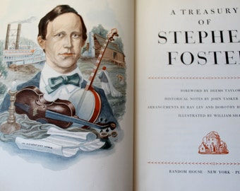 A Treasury of Stephen Foster Song Book