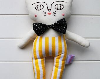 Cat soft toy plush - Thomas