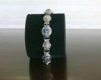 rhinestone and pearl  bracelet