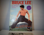Bruce Lee His Unknowns in martial Arts Learning with Autographed Photo included. Collectible Magazine 1977 DanPickedMinerals