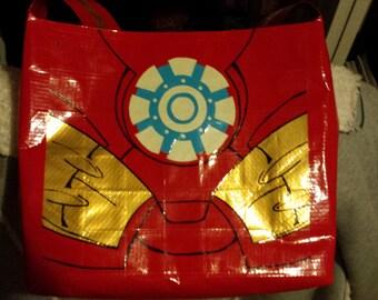 Superhero Duct Tape Bag