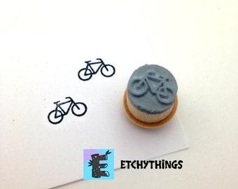 Bicycle Stamp XS O006