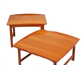 Folke Ohlsson For Dux Scandinavian Teak Table Set