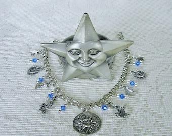 Virgo Charm Bracelet Zodiac Bracelet Horoscope Birthday Gift
