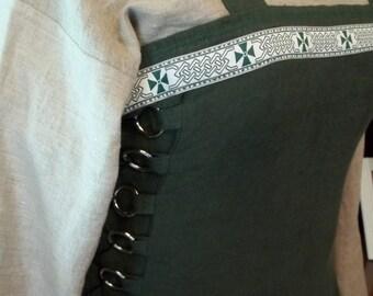 Custom Bundle Linen Apron Dress and Chemise