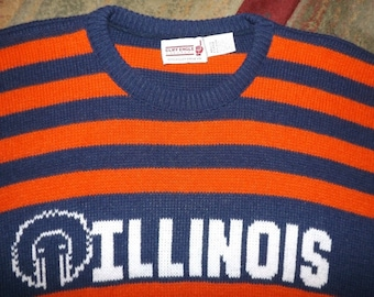 University of Illinois Vintage Cliff Engle Sweater XL