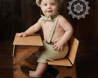 Boy Special Occasion, Baby Boy outfit, Cake Smash, Birthday Outfit, Baby Ring Bearer, Boys Photo Prop, Newborn boy, Newsboy Set, Baby suit