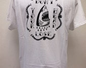 Dont Lose Your Head on Mens Large White