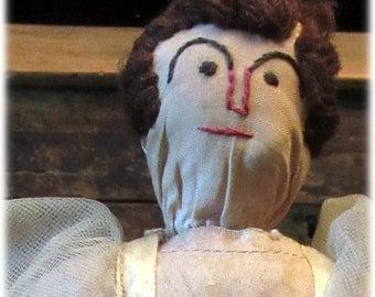 Ugly Lady Bottle Doll