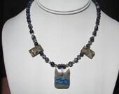 Leopardstar of Riverclan Warriors Inspired Necklace