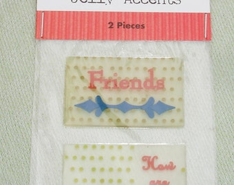 Jelly Accents by Colorbok - Friends & How Are You