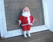 Vintage Santa doll;  Made in Japan - Midcentury Santa Figurine for Christmas Tree, Mantel - Mad Men Christmas Holiday Decor - Cute Santa
