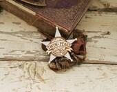 Twin Peaks Brooch - Sheriff Badge