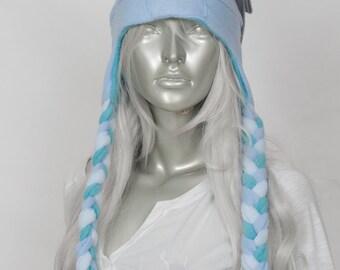 Blue Bunny Lolita Hat